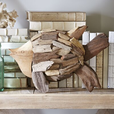 Driftwood Angelfish Decor