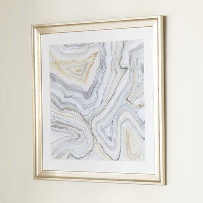 Agate Framed Print II