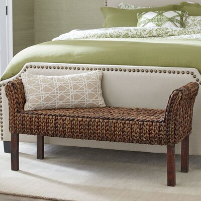 Birch Lane Clearwater Woven Bench