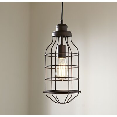 Trenton Pendant Finish: Burnished Bronze