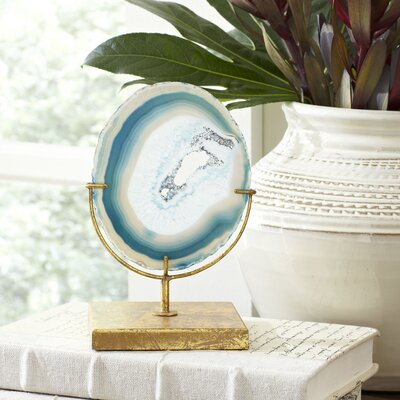 Birch Lane Blue Agate Decor