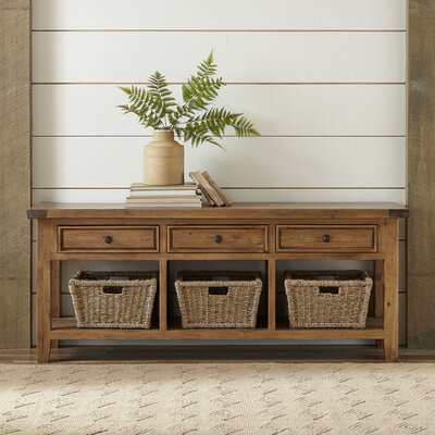 TV Console with Baskets Finish: Oxford