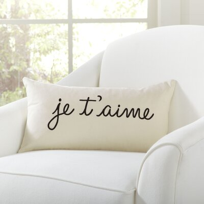 Je T'aime Pillow Cover