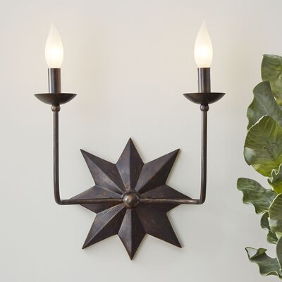 Canaveral 2-Light Armed Sconce
