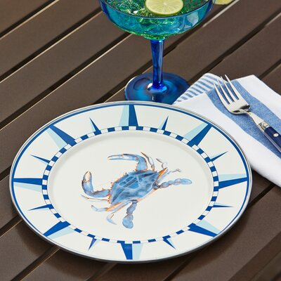 Harbor Crab Dinner Plate