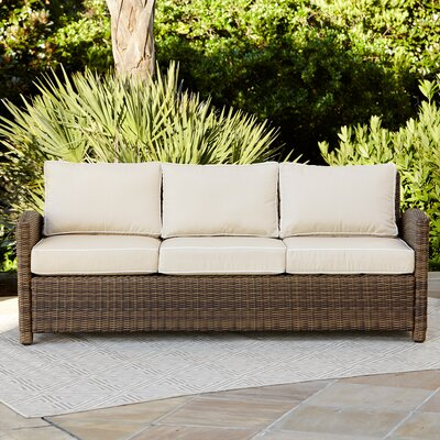 Lawson Sofa with Cushions Fabric: Sand