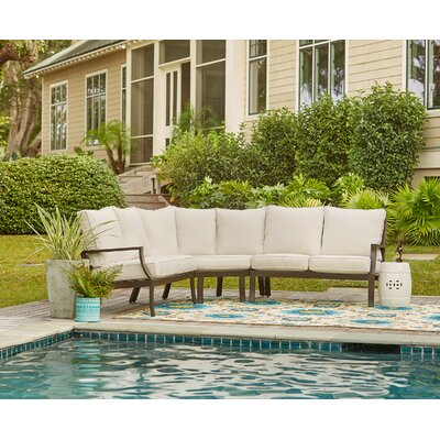 Endicott Sectional with Sunbrella� Cushions