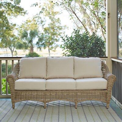 Lynwood Wicker Sofa with Sunbrella� Cushions
