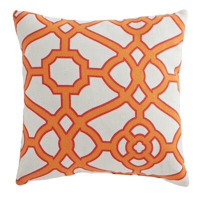Manila Outdoor Pillow Color: Orange