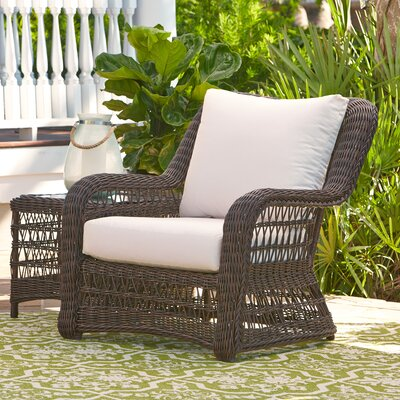 Rosemead Wicker Chair with Sunbrella Cushions