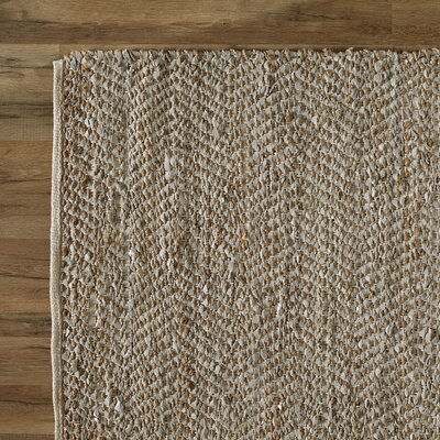 Tolston Hand-Woven Brown Area Rug Rug Size: Rectangle 8 x 10