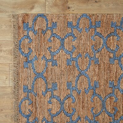 Jane Hand-Woven Area Rug Rug Size: Rectangle 5 x 8