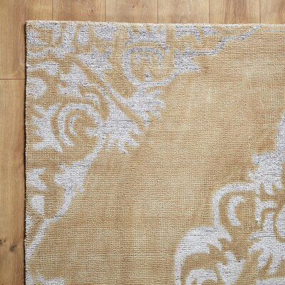 Elaina Moonlight Rug Rug Size: Rectangle 8 x 11