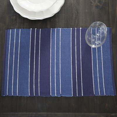 Kylie Striped Placemats (Set of 6)