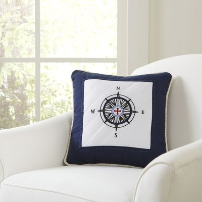Maritime Compass Pillow Cover