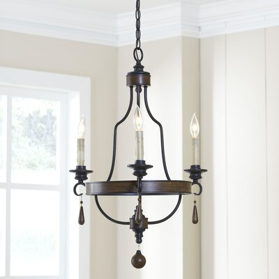 Maynard 3-Light Candle-Style Chandelier