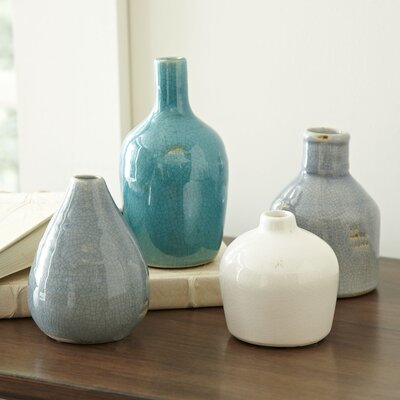 4 Piece Conley Vase Set
