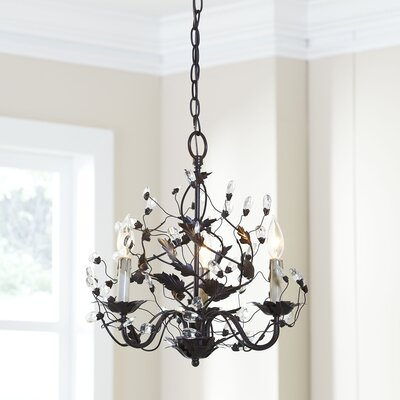 Palermo 3-Light Candle-Style Chandelier