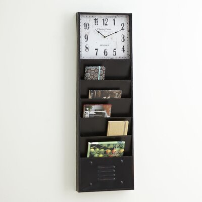 Wall Clock Organizer