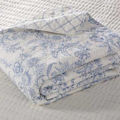 Karen Blue Reversible Quilt Collection