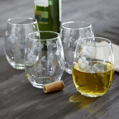 Cassius Stemless Wine Glasses