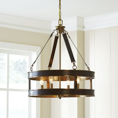 Thorndike 4-Light Drum Chandelier
