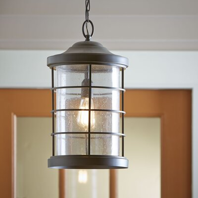 Alanson Outdoor Hanging Lantern Finish: Antique Bronze