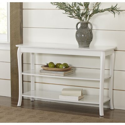Alberts Console Table Finish: White
