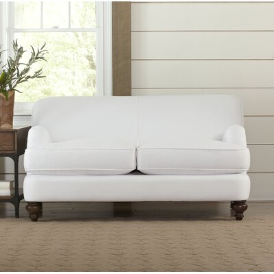 Durham Loveseat Upholstery: Spinnsol Natural