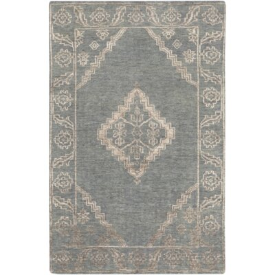 Desi Slate & Ivory Rug Rug Size: Rectangle 33 x 53