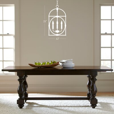 Chesapeake 4-Light Candle-Style Chandelier Finish: Dark Brown