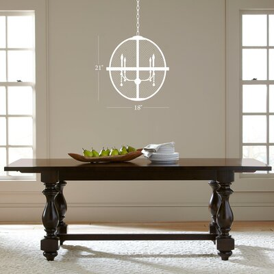 Rosemont Candle-Style Chandelier Size: Small
