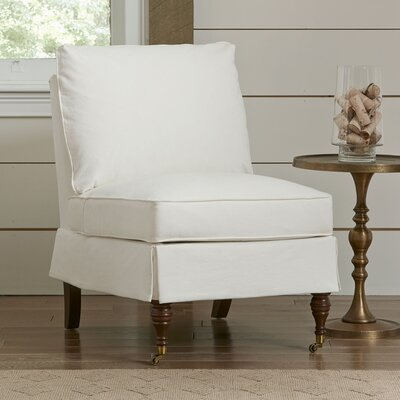 Kendall Slipper Chair Upholstery: Equinox Beige