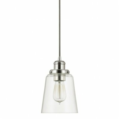 Phillips 1-Light Mini Pendant Finish: Polished Nickel