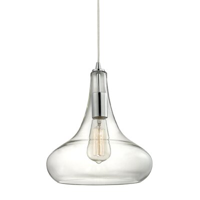 Orbital 1-Light Mini Pendant Finish: Polished Chrome