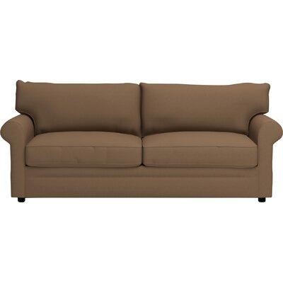 Newton Sleeper Sofa Upholstery: Jackson Bark Microsuede
