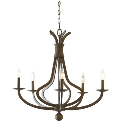 Egleston 5-Light Candle-Style Chandelier