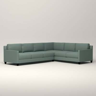 Kerry L-Shaped Sectional Orientation: Right Facing, Upholstery: Bryant Calypso Textured Slub
