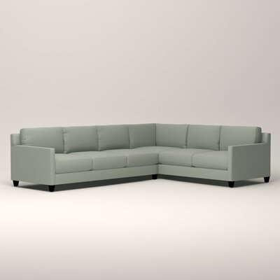 Kerry L-Shaped Sectional Orientation: Right Facing, Upholstery: Tillery Mint