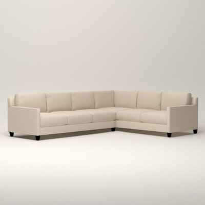 Kerry L-Shaped Sectional Orientation: Right Facing, Upholstery: Tillery Vanilla