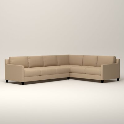 Kerry L-Shaped Sectional Orientation: Right Facing, Upholstery: Tillery Sand