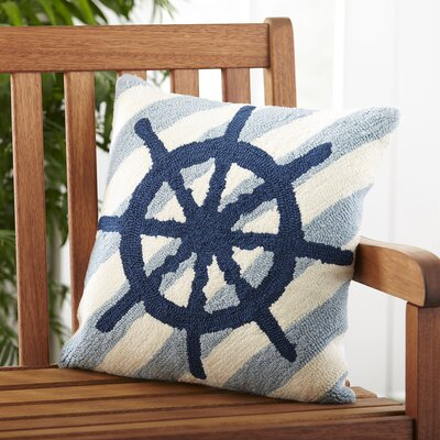 Take the Wheel Outdoor Pillow Cover
