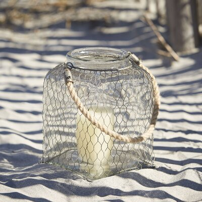 Foley Wire Cage Lantern Size: Large