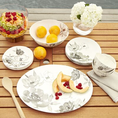 Toulouse Melamine 12-Piece Dinnerware Set