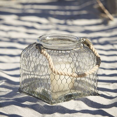 Foley Wire Cage Lantern Size: Small