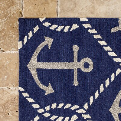 Harbor Shipyard Indoor/Outdoor Area Rug Rug Size: Rectangle 2 x 3