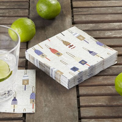 Buoy Cocktail Napkins (Set of 3)