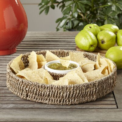 Seagrass Chip and Dip Basket