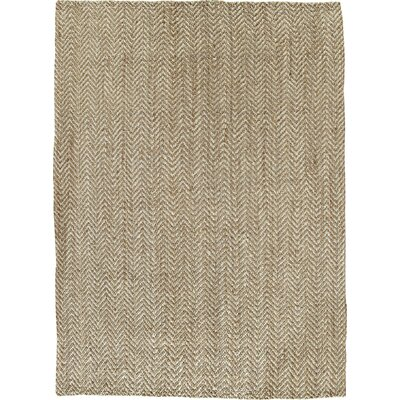 Sibley Hand-Woven Jute Area Rug Rug Size: Rectangle 5 x 8
