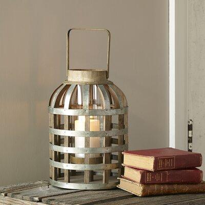 Swansea Tall Lantern Size: 18.1 H x 9.5 W x 9.5 D